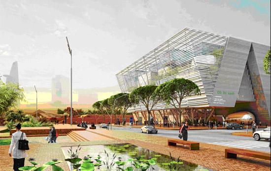 De so agence d architecture d urbanisme laur ate du for Architecture concours